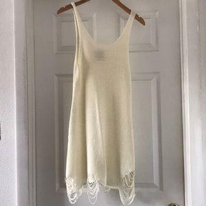 Unif Distressed Dress